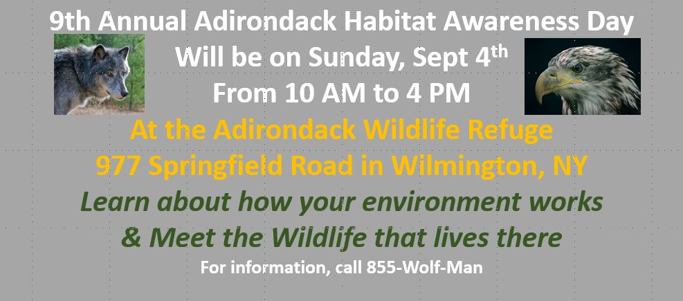 2016 Adirondack Habitat Awareness Day
