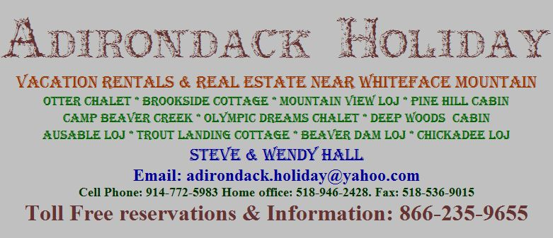 Adirondack Holiday Email